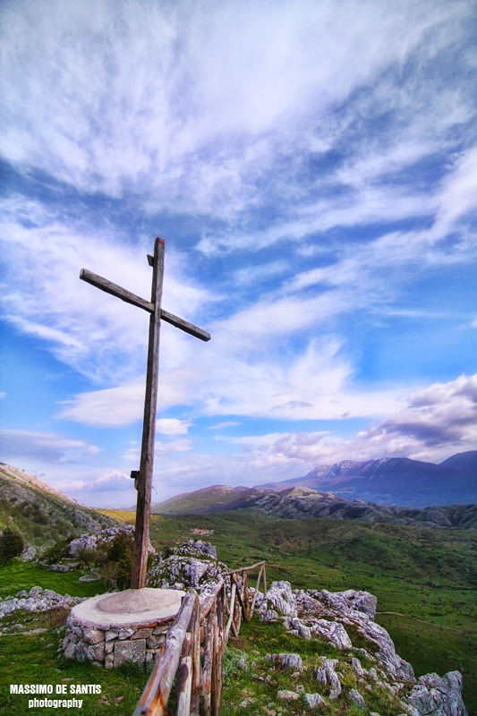 croce sul monte vivo piaggine cilento