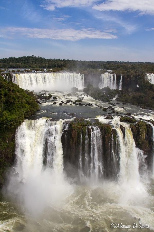 Le cascate dell'Iguazú